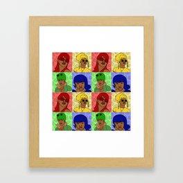 Crushin Framed Art Print