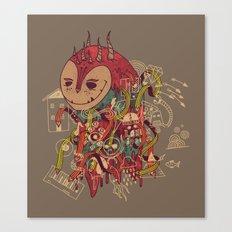 The Doodler Canvas Print