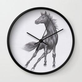 Prancing Horse Wall Clock