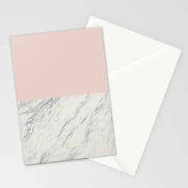 Moon Marble Stationery Cards