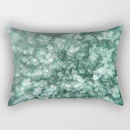 Aqua Diamonds Rectangular Pillow