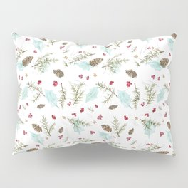 Pinecones and Berries Pillow Sham