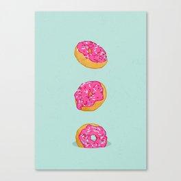 Doughnuts Canvas Print