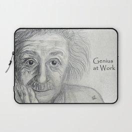 Albert Einstein Laptop Sleeve