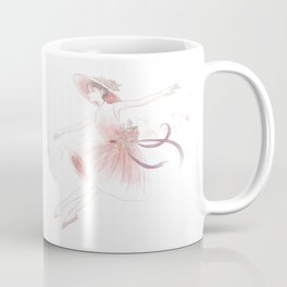 dancing in a dress Coffee Mug