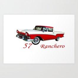 57 Ranchero Art Print