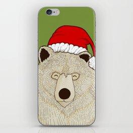 Xmas Bear iPhone Skin