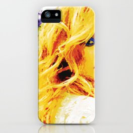 Blondie iPhone Case