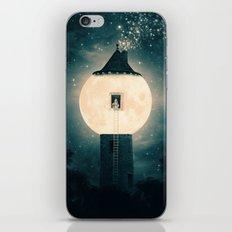 The Moon Tower iPhone & iPod Skin