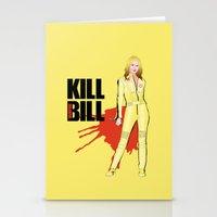 kill bill Stationery Cards featuring Kill Vampire Bill by AriesNamarie