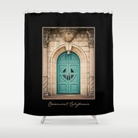 pony Shower Curtains featuring Pretty Pony by SPARROW HOUSE photography