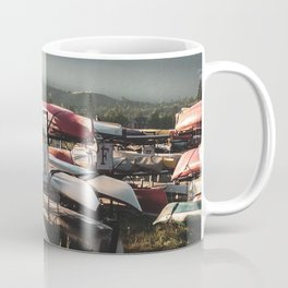 Alaskan Canoe // Storage in the Wilderness for the Adventureous in Spirit Coffee Mug