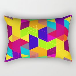 Pattern LXXX Rectangular Pillow
