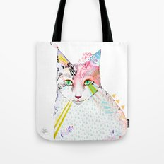 Cat / March Tote Bag