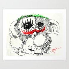 GIZMO JOKER Art Print