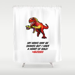 Don't Judge Me! Shower Curtain