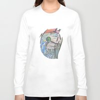 ducks Long Sleeve T-shirts featuring Ducks by Inez Gulyas