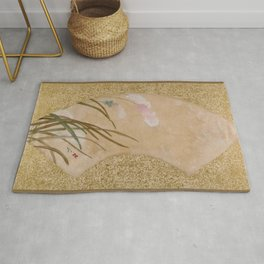 Shibata Zeshin - Leaves - Digital Remastered Edition Rug