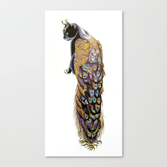 Goddess of Many Eyes 3 Canvas Print