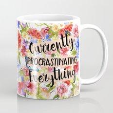 Currently Procrastinating Mug