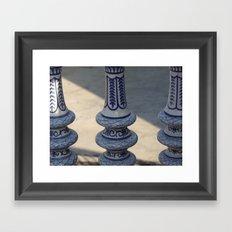 Almost Symmetry Framed Art Print