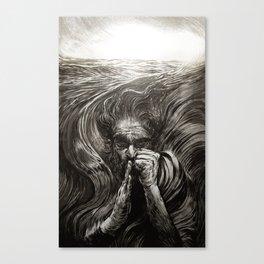 JONAH - SANS TEXT Canvas Print