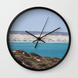 Distant Sacred Land on Nullarbor Wall Clock