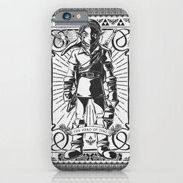 Legend of Zelda - Epic Link Vintage Geek Line Artly iPhone Case