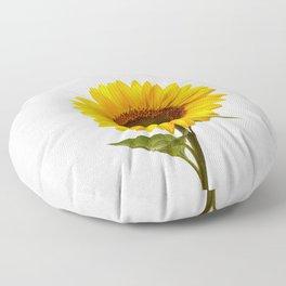 Sunflower Still Life Floor Pillow