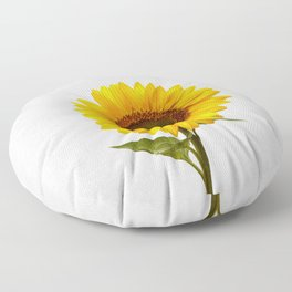 Sunflower Still Life Floor Pillow