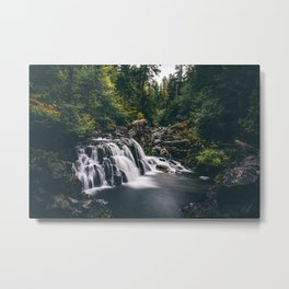 Sawmill Falls on Opal Creek, Oregon Metal Print