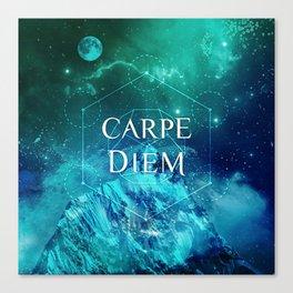 CARPE DIEM GEOMETRY Canvas Print