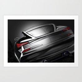 Rear Studio Spotlight Art Print