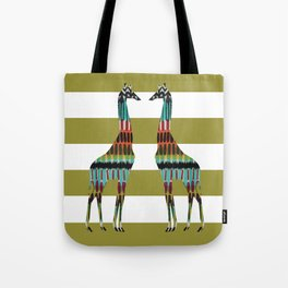 Safari Stripes Tote Bag