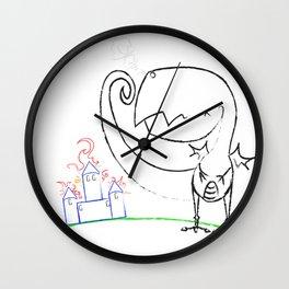 Terrible Twos Wall Clock