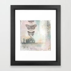 Schoolhouse Framed Art Print