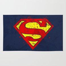 Super Man's Splash Rug