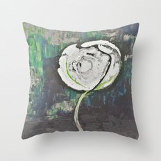 Golden Rose Acrylic Icey Green Mint Chocolate Chip Throw Pillow