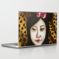 minnie Laptop & iPad Skins featuring minnie by NAME THEGREY