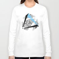 hexagon Long Sleeve T-shirts featuring Hexagon by ADGPC