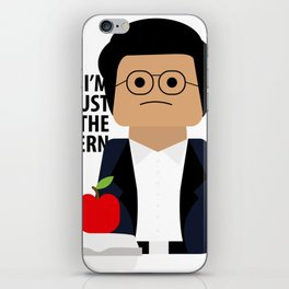 I'm Just the Intern Geek iPhone Skin