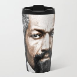 Frederick Douglass Painting In Color Travel Mug