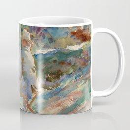 "John Singer Sargent ""An Artist at His Easel"" Coffee Mug"