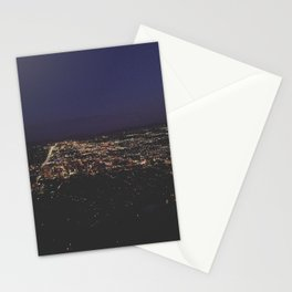 Looking South Salt Lake Stationery Cards