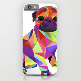 Pug Dog Molly Mops iPhone Case