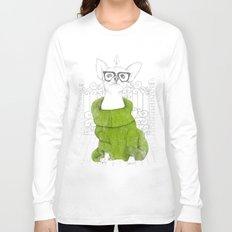 Hipster Chiuaua Long Sleeve T-shirt