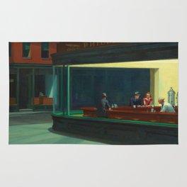 Nighthawks by Edward Hopper, 1942 Rug