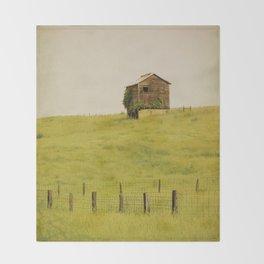 Summer Pastures Throw Blanket