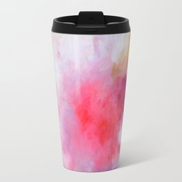 Blush Song #1 Original Painting by Rachael Rice Metal Travel Mug