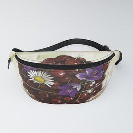 Summer oil painting Fanny Pack